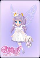 薰衣草兔兔套装