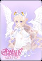 圣洁白羽套装