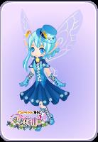 水晶蓝套装