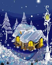 """""""白雪之夜"""""""