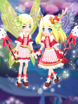 雪兔铃铛套装