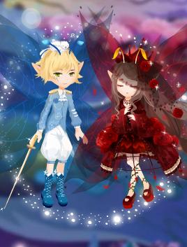 沉睡蔷薇/蔷薇王子套装