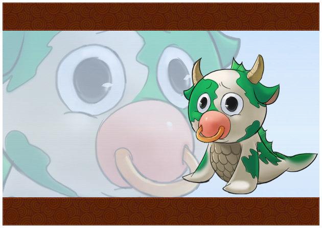 可爱的海牛哞哞     海牛哞哞则是海贼动漫中很傻很天真的怪物
