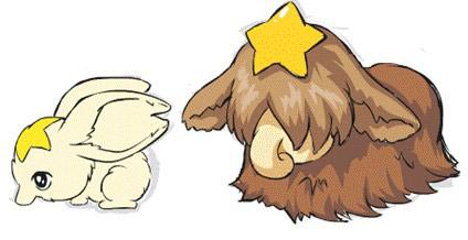 卡通最萌小兔子