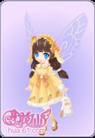 姜饼萝萝兔套装